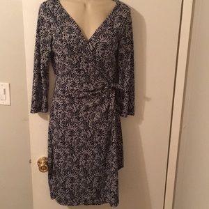 BCBG Maxazria 3/4 sleeves dress